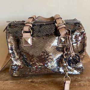 Sequin Michael Kors Bag